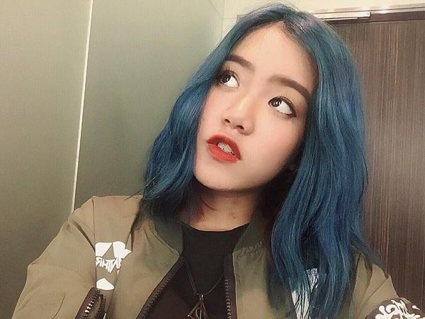 Kết quả hình ảnh cho tóc xanh