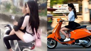Muôn kiểu tham gia giao thông khiến dân tình gai mắt của thiếu nữ Việt
