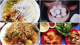 Ăn vặt khu chợ Nghĩa Tân chỉ với 30.000 đồng