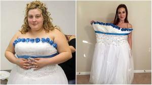 Cô gái trẻ đổi đời hoàn toàn khi giảm 88kg