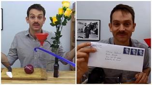 """Phát minh """"lầy nhất năm"""": dán tem thư bằng... nước mắt"""
