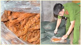 Ngăn chặn gần 2 vạn gà giống nhập lậu, 2 tấn lòng thối đổ bộ vào chợ dân sinh