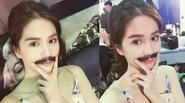 Facebook 24h: Ngọc Trinh khoe khoảnh khắc mọc râu ria như đàn ông