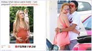 Lindsay Lohan hé lộ đang có bầu sau khi tố bạn trai thiếu gia lăng nhăng