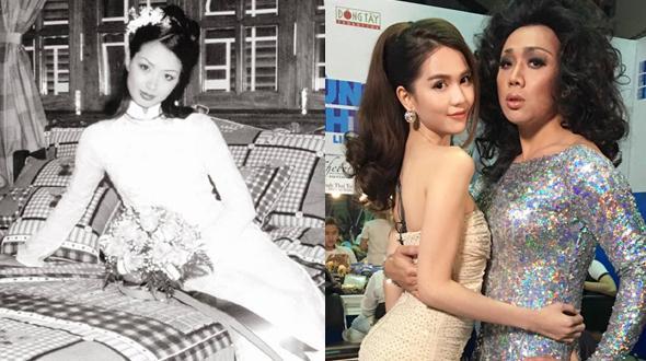 """Facebook 24h: Thúy Hằng hé lộ ảnh cưới 16 năm trước - Trấn Thành """"ôm ấp"""" Ngọc Trinh"""