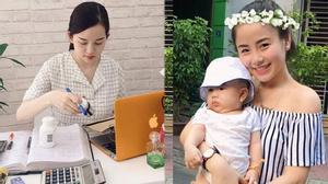 Ly kute chăm chỉ kiếm tiền nuôi con - Nam Thương trẻ như gái chưa chồng