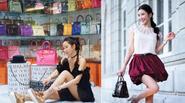 """Sao hạng A cũng """"phát ghen"""" với nữ đại gia Singapore vì mỗi ngày một phong cách túi Hermes"""