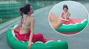 Facebook 24h: Đây là sự thật đằng sau bức ảnh đẹp của Ngọc Trinh