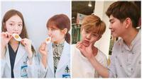 """Doctors: Loạt ảnh hậu trường """"nhắng không thể tả"""" của Park Shin Hye"""