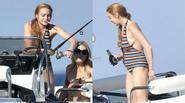 Lindsay Lohan hút thuốc, uống bia ngay sau khi bố khẳng định đang mang bầu