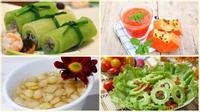 5 loại rau quả giảm béo, giải nhiệt mùa hè cực hiệu quả