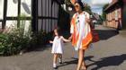 Đoan Trang đưa con gái về ngôi nhà hoa như thiên đường ở quê chồng Thụy Điển