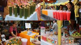 Thiên đường ăn vặt ở chợ đêm cuối tuần Krabi - Thái Lan