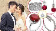 1 tỷ đô la Hồng Kông là giá trị số nữ trang Lâm Tâm Như đeo trong hôn lễ