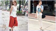 Sao Việt cá tính hơn với thời trang buộc túm