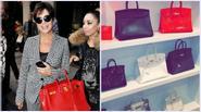 Nếu Kylie Jenner có tủ giày như đại lý thì mẹ cô có cả kệ túi Hermes như cửa hàng