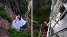 Phong cách chụp ảnh cưới tử thần khiến nhiều người hoảng hồn của cặp đôi này