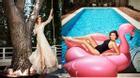 Miranda Kerr khoe biệt thự triệu đô bên bờ biển