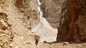 Kỳ diệu sông băng trong sa mạc Iran