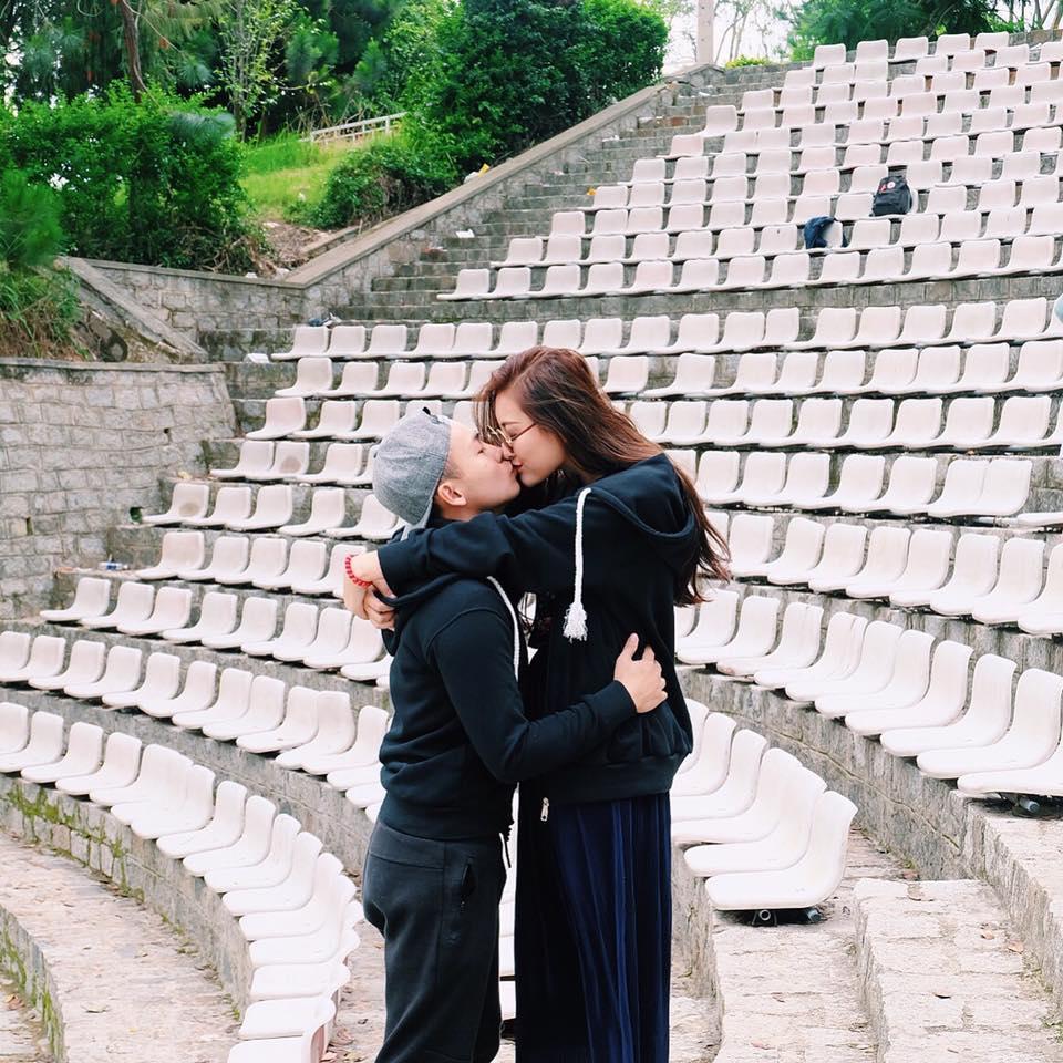Hà Lade đi du lịch Đà Lạt cùng người yêu.