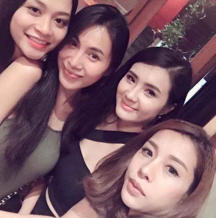 Khánh Chi hẹn hò cùng chị dâu Thủy Tiên khi vào Sài Gòn.