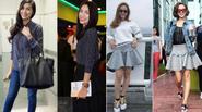 Sở hữu tủ đồ như shop thời trang, mỹ nhân Việt vẫn có thú vui mặc lại đồ cũ