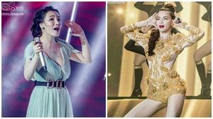 Hà Hồ, Hương Hồ cứu cánh cho đêm Chung kết X-factor tẻ nhạt