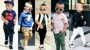 Con trai Đỗ Mạnh Cường ăn mặc sành điệu không hổ danh con trai của NTK nổi tiếng nhất nhì Việt Nam