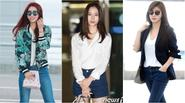 Style sân bay của những ngôi sao có gương mặt đẹp nhất xứ Hàn