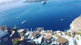 Khám phá hòn đảo xanh ngắt màu trời Santorini