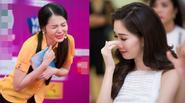 HH Thu Thảo bật khóc trước phần thi tài năng của thí sinh HHVN