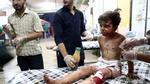 Thế giới tiếp tục chấn động bởi một loạt hình ảnh trẻ em oằn mình chống chọi với chiến tranh
