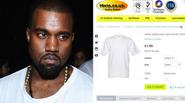 Kanye West bị tố nhập áo 55.000 đồng, in thêm chữ rồi bán với giá 2 triệu đồng