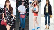Street style sao Hàn: khoe túi hàng hiệu mới là đẳng cấp