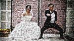 Ý tưởng độc đáo: Ảnh cưới ghép từ 800 bức ảnh