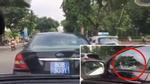 Sẽ xử nghiêm vụ bé gái lái xe biển xanh trên đường phố Hà Nội