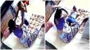 Chồng lắp camera giám sát bắt quả tang vợ bạo hành con đẻ