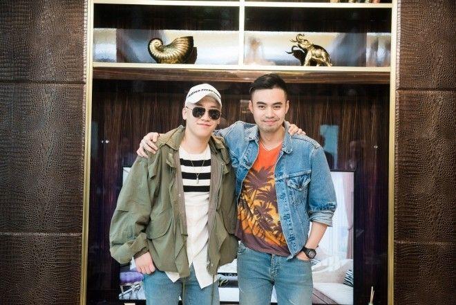 Chiếc áo denim jacket Saint Laurent mà anh chàng diện trong bức ảnh chụp cùng Seung Ri cúng có giá trên trời