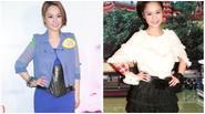 Chung Hân Đồng mặc xấu khi tăng cân