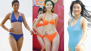 Khai quật ảnh bikini mộc mạc của các Hoa hậu Việt Nam