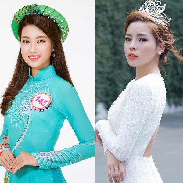 Cả hai hoa hậu đều đang là sinh viên năm 3 của Đại học Ngọc thương.
