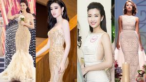 """Tân Hoa hậu Việt Nam """"cạnh tranh"""" nhan sắc với Huyền My, Mai Ngô thế nào?"""