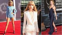 Bất ngờ về sự thay đổi phong cách thời trang của Taylor Swift qua từng mùa VMA