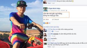 Lạnh gáy với status báo trước cái chết của nam thanh niên Hà Nội