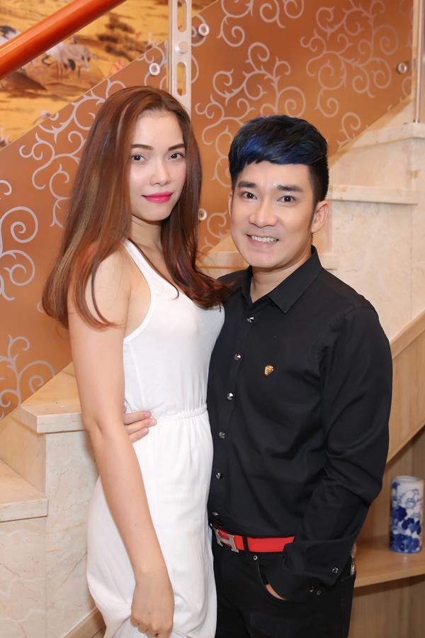 Siêu mẫu Tuấn Việt và Quách An An cũng sánh đôi tham dự sự kiện.