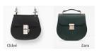 Zara và những chiếc túi nhái Louis Vuitton, Chanel, Fendi...