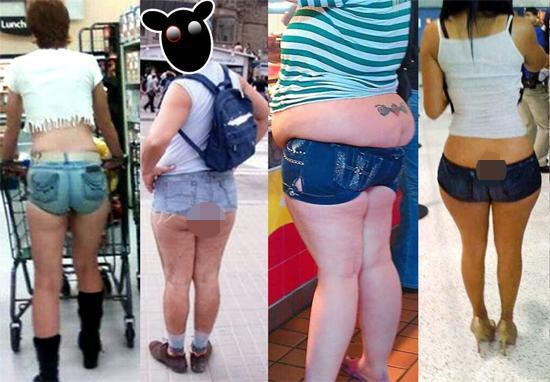 Các chủ nhân lăng xê chiếc quần shorts ngắn 5cm nhưng đây chính là những thảm họa thời trang