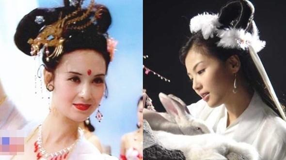 Hằng Nga tiên tử xấu – đẹp trên màn ảnh Hoa ngữ
