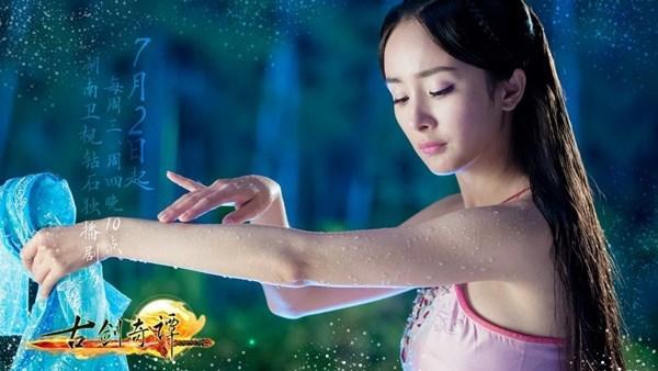 Đốt mắt với tạo hình cổ trang khoe vai trần của mỹ nữ Hoa ngữ - Ảnh 6.