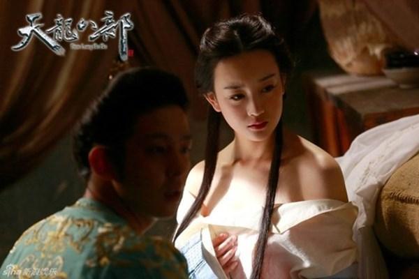 Đốt mắt với tạo hình cổ trang khoe vai trần của mỹ nữ Hoa ngữ - Ảnh 7.